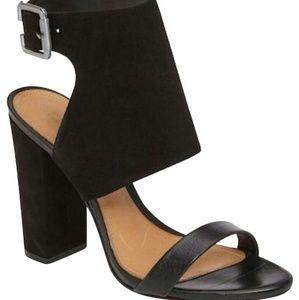 SCHUTZ Black Rosina Sandals